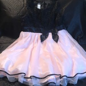 Holiday Editions Pink & Black Dress - Size 14/16